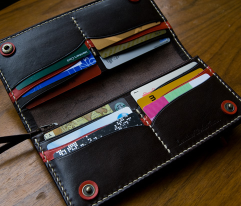 かわいい革財布レディースの使用例