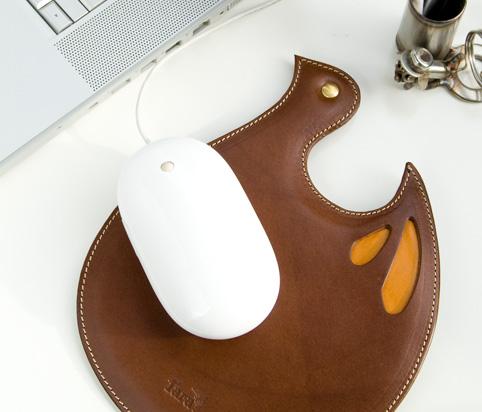 本革マウスパッド