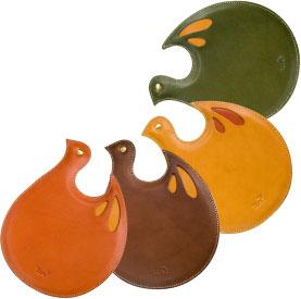 革製マウスパッドのカラーバリエーション