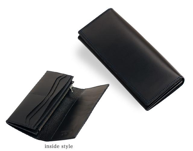 長財布 メンズ ブッテーロ(Buttero)黒・ブラック