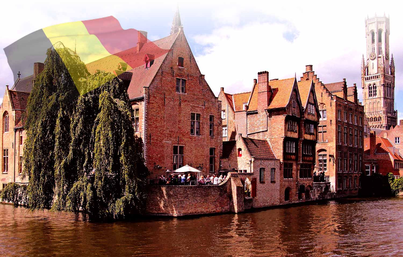 ルガトーが作られているベルギーの風景