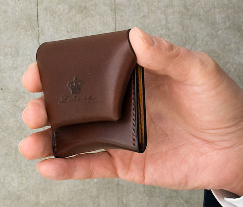 革製小銭入れ コインケースの大きさ