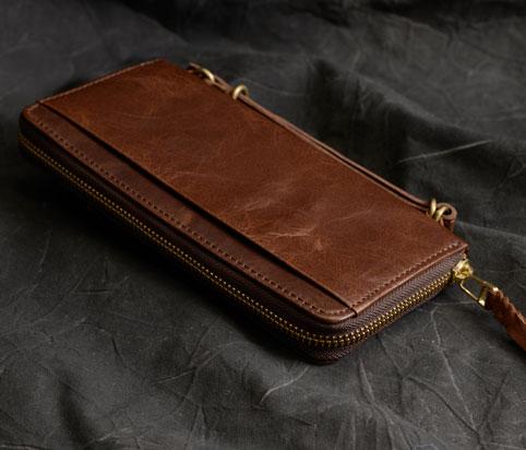 長財布の裏にはポケットが1つ