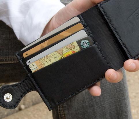 マネークリップのデザイン「カード部」