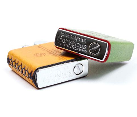 人気のオイルタンク式のライター マーベラス