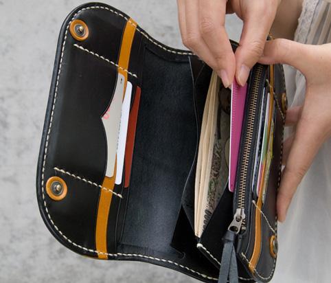 長財布のサブポケット