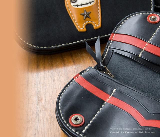 かわいいレディース革財布のデザイン